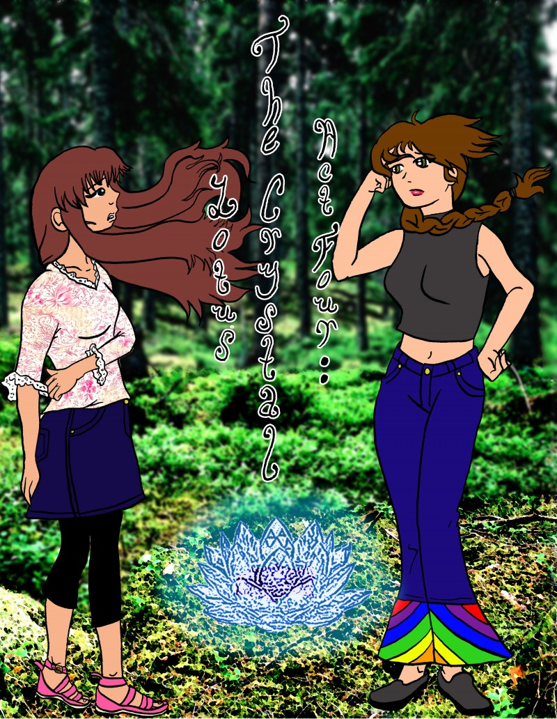 The Crystal Lotus (Read right to left)
